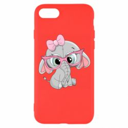 Чехол для iPhone 8 Baby elephant 1