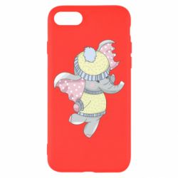 Чохол для iPhone 8 Baby elephant