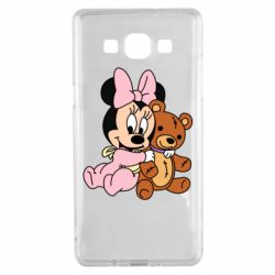 Чохол для Samsung A5 2015 Baby minnie and bear