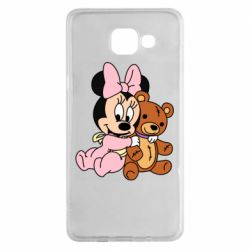 Чохол для Samsung A5 2016 Baby minnie and bear
