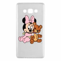 Чохол для Samsung A7 2015 Baby minnie and bear