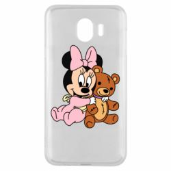 Чохол для Samsung J4 Baby minnie and bear