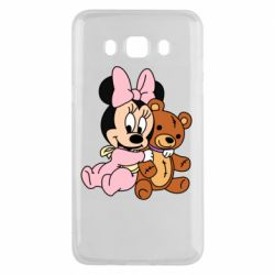 Чохол для Samsung J5 2016 Baby minnie and bear