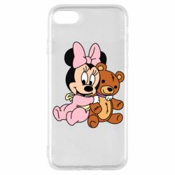 Чохол для iPhone 7 Baby minnie and bear
