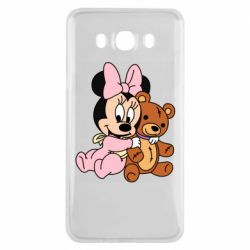 Чохол для Samsung J7 2016 Baby minnie and bear