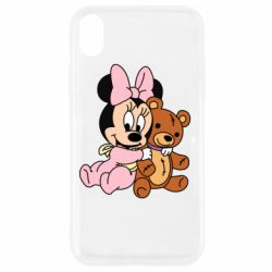 Чохол для iPhone XR Baby minnie and bear