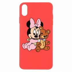Чохол для iPhone Xs Max Baby minnie and bear