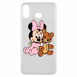 Чохол для Samsung A6s Baby minnie and bear