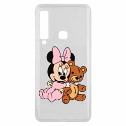 Чохол для Samsung A9 2018 Baby minnie and bear