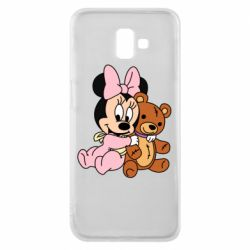 Чохол для Samsung J6 Plus 2018 Baby minnie and bear