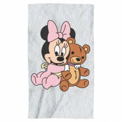 Рушник Baby minnie and bear