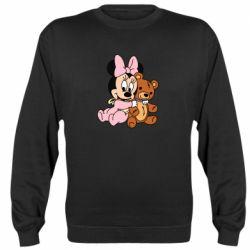 Реглан (свитшот) Baby minnie and bear