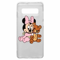 Чохол для Samsung S10+ Baby minnie and bear