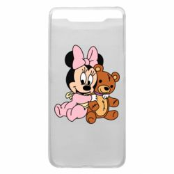 Чохол для Samsung A80 Baby minnie and bear