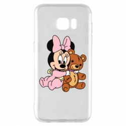 Чохол для Samsung S7 EDGE Baby minnie and bear
