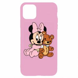 Чохол для iPhone 11 Baby minnie and bear