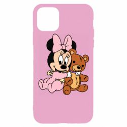 Чохол для iPhone 11 Pro Baby minnie and bear