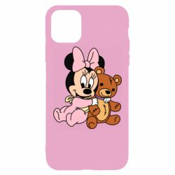 Чохол для iPhone 11 Pro Max Baby minnie and bear