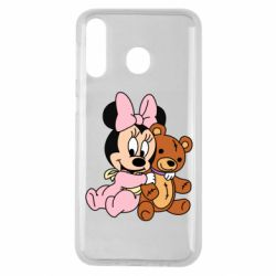Чохол для Samsung M30 Baby minnie and bear