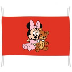 Прапор Baby minnie and bear