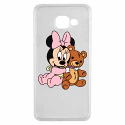 Чохол для Samsung A3 2016 Baby minnie and bear