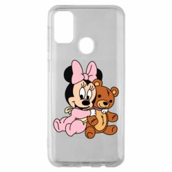 Чохол для Samsung M30s Baby minnie and bear