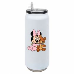 Термобанка 500ml Baby minnie and bear