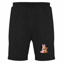Мужские шорты Baby minnie and bear