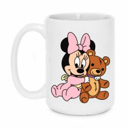 Кружка 420ml Baby minnie and bear