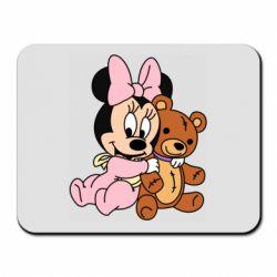 Коврик для мыши Baby minnie and bear