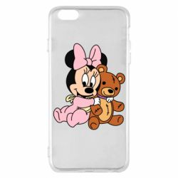 Чохол для iPhone 6 Plus/6S Plus Baby minnie and bear