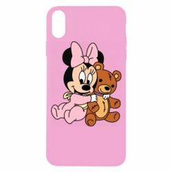Чохол для iPhone X/Xs Baby minnie and bear