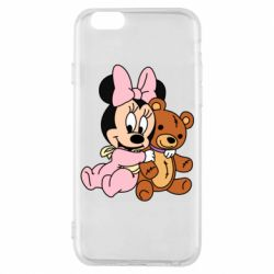 Чохол для iPhone 6/6S Baby minnie and bear