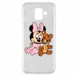 Чохол для Samsung A6 2018 Baby minnie and bear