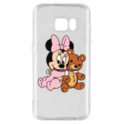 Чохол для Samsung S7 Baby minnie and bear