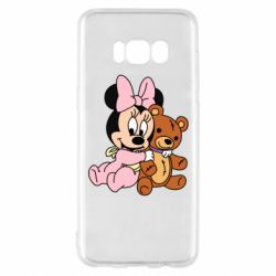Чохол для Samsung S8 Baby minnie and bear