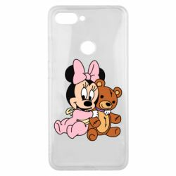 Чехол для Xiaomi Mi8 Lite Baby minnie and bear