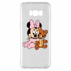 Чохол для Samsung S8+ Baby minnie and bear