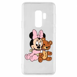 Чохол для Samsung S9+ Baby minnie and bear