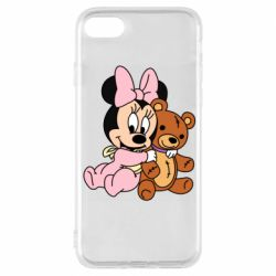 Чохол для iPhone 8 Baby minnie and bear
