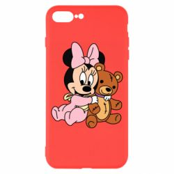 Чохол для iPhone 8 Plus Baby minnie and bear