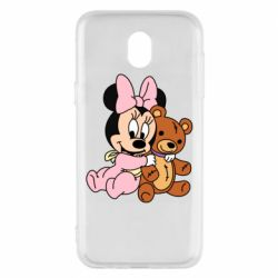 Чохол для Samsung J5 2017 Baby minnie and bear