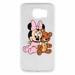 Чохол для Samsung S6 Baby minnie and bear