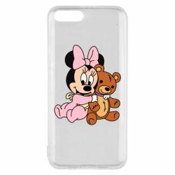 Чехол для Xiaomi Mi6 Baby minnie and bear