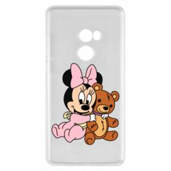 Чехол для Xiaomi Mi Mix 2 Baby minnie and bear