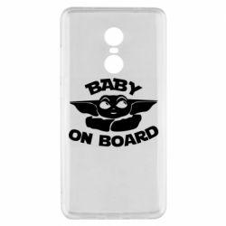 Чехол для Xiaomi Redmi Note 4x Baby on board yoda