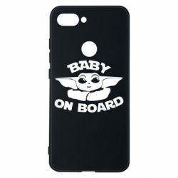 Чехол для Xiaomi Mi8 Lite Baby on board yoda