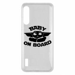 Чохол для Xiaomi Mi A3 Baby on board yoda