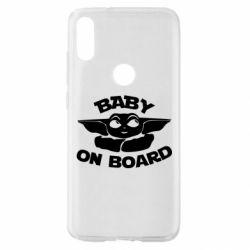 Чехол для Xiaomi Mi Play Baby on board yoda