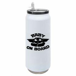 Термобанка 500ml Baby on board yoda